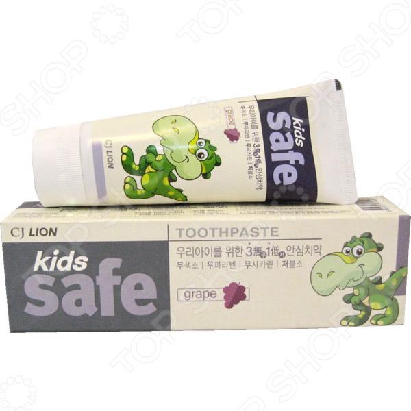 Зубная паста детская CJ Lion Kids Safe «Виноград»