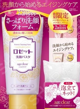 Пенка для умывания Rosette Age clear для нормальной и жирной кожи средство для умывания для жирн beauty formulas средство для умывания для жирн