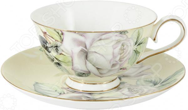 Чайная пара Colombo «Белые розы»