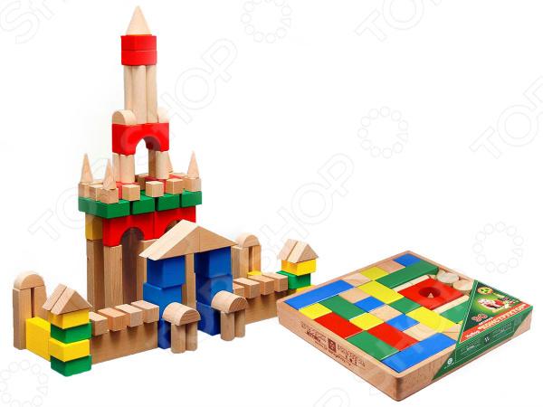 Конструктор деревянный Престиж-Игрушка КЦ2491 конструктор деревянный домик с сюрпризом
