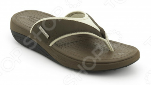 Сланцы мужские Walkmaxx Flip Flop. Цвет: коричневый 2