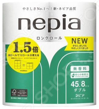 Туалетная бумага Nepia Long Roll 262802