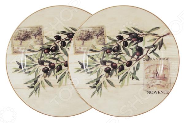 Набор тарелок LF Ceramic «Оливки» кружка lf ceramic оливки 500 мл