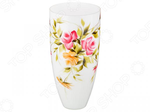 Ваза декоративная «Роза опал» 354-1080