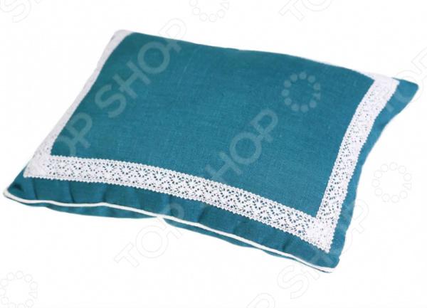 Подушка Био-Текстиль с ортопедическим эффектом «Кедровое очарование» Blue подушка ортопедическая для шеи био текстиль подкова