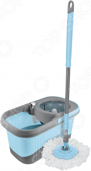 Швабра-вертушка «Клининг ПРО» швабра loks super cleaning с насадкой для отжима цвет розовый l10 2757 11