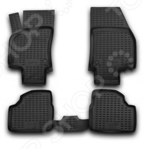 Комплект ковриков в салон автомобиля Novline-Autofamily Opel Astra H 2004 накладки на пороги opel astra h iii 4 5d 2004 2009 carbon