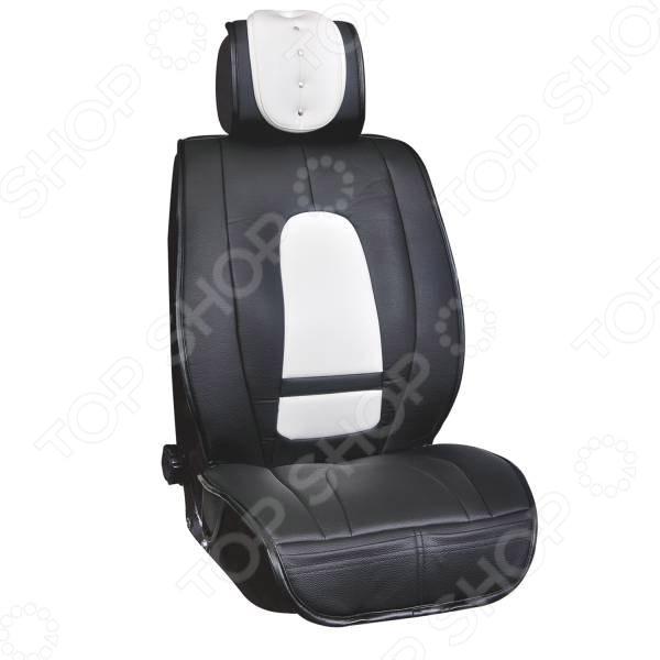 Набор чехлов для сидений SKYWAY «Люкс. Премиум-класс» S01301101 коврики автомобильные skyway s01702019