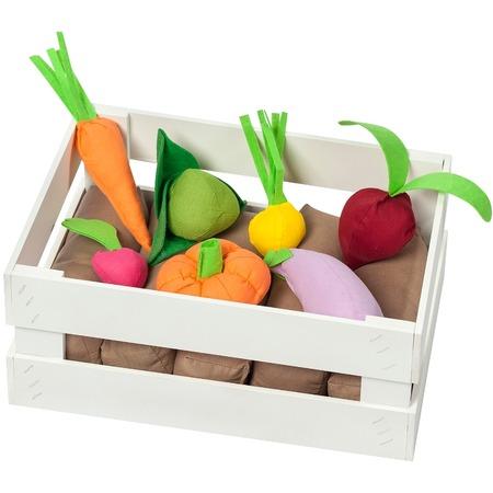 Купить Набор игровых аксессуаров PAREMO «Ящик с овощами». Количество предметов: 12 шт