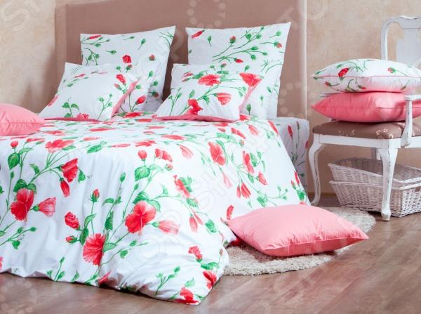 Комплект постельного белья MIRAROSSI Francesca red цена