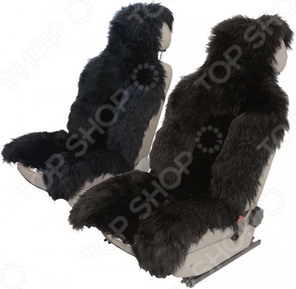 Комплект меховых накидок на сиденья Senator Country Luxe шапка меховых