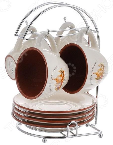 Чайный набор Terracotta «Сардиния» terracotta набор для специй на подставке сардиния
