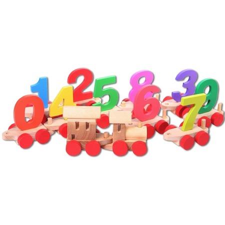 Купить Игрушка деревянная PAREMO «Паровозик с цифрами»