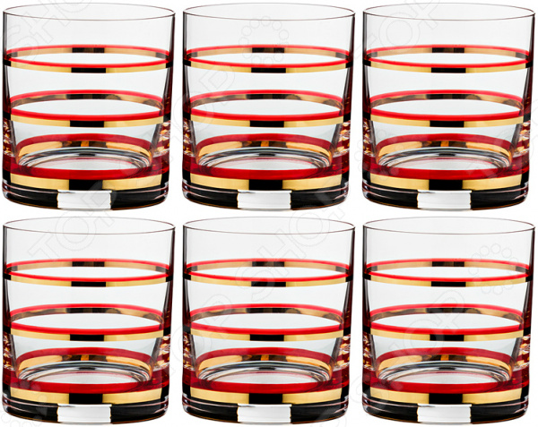 Набор стаканов Bohemia Crystal Wellness набор для вина графин и 2 бокала bohemia crystal wellness