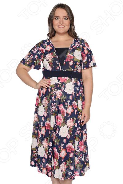 Платье Матекс «Иллюзия солнца». Цвет: розовый платье матекс уютная цвет синий