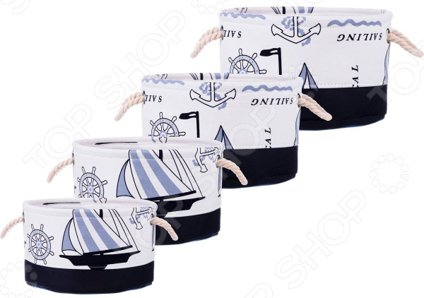 Набор корзин для хранения Lefard 190-187 интерьер и декор