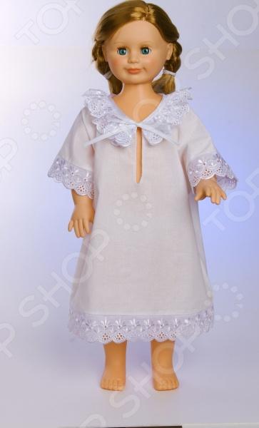Рубашка крестильная Осьминожка. Отделка: шитье