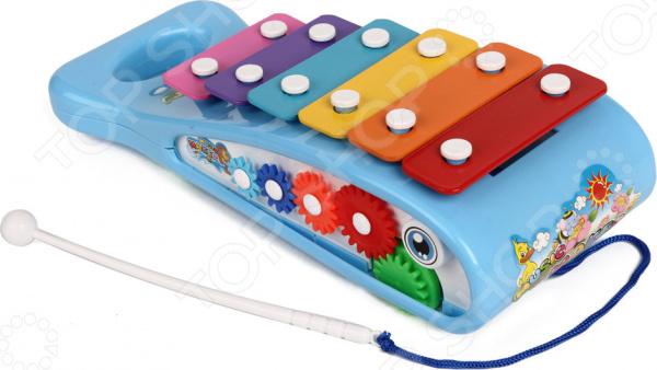 Ксилофон детский Наша Игрушка «Рыба-кит». В ассортименте