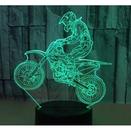 Купить Светильник 3D «Мотоцикл»