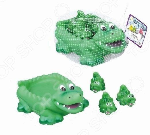 Набор игрушек для купания Наша Игрушка «Крокодильчики»