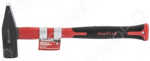 Молоток слесарный MATRIX Optimal с фибергласовой обрезиненной рукояткой