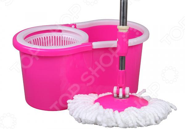 Комплект для уборки полов: швабра и ведро с отжимом Rosenberg R-800009 rosenberg r 519