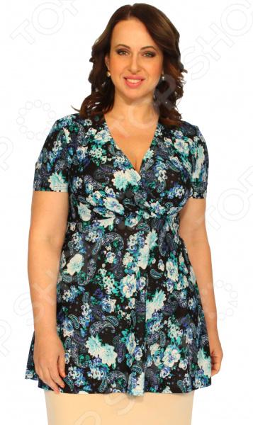 Туника Матекс «Виктория». Цвет: синий  туника матекс хелен цвет синий