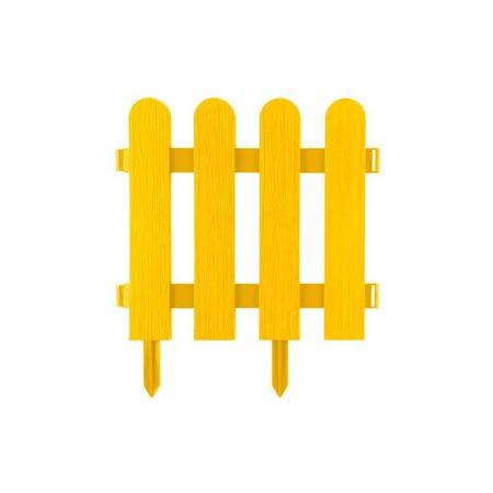 Забор декоративный Grinda «Штакетник» 422209