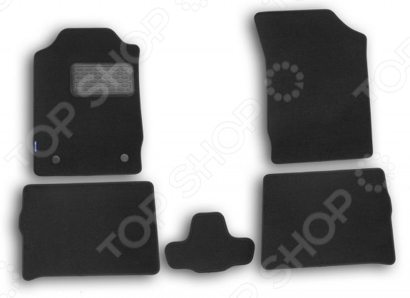 Комплект ковриков в салон автомобиля Novline-Autofamily Renault Symbol II 2008 седан. Цвет: черный комплект ковриков в салон автомобиля novline autofamily mercedes benz gl class x164 2006 внедорожник цвет бежевый