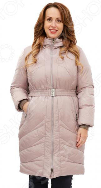 Пальто D`imma «Лина». Цвет: светло-коричневый