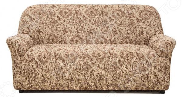 Натяжной чехол на трехместный диван Еврочехол «Виста. Флоренция»