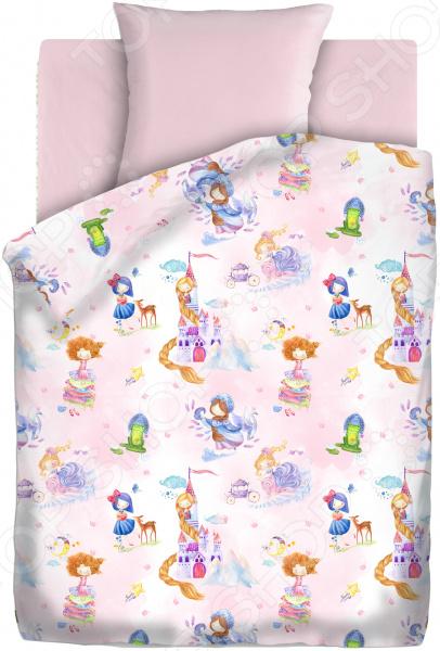 Детский комплект постельного белья Непоседа «Маленькая принцесса» детский комплект постельного белья непоседа на рыбалке