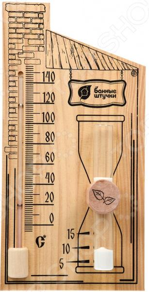 Термометр для бани и сауны Банные штучки с песочными часами
