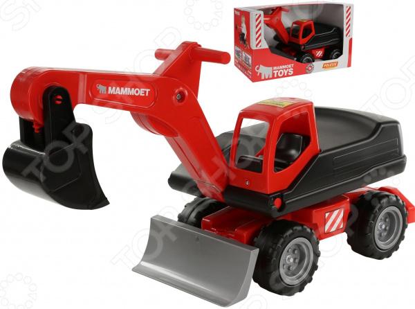 Машинка игрушечная Wader MAMMOET «Мега-экскаватор колёсный» №2