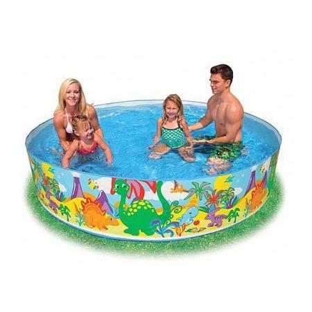 Купить Бассейн детский Intex 58472 «Динозавр»