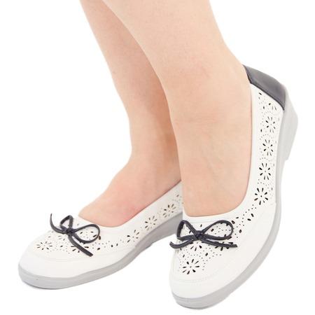 Купить Туфли АЛМИ «Адель». Цвет: белый, синий