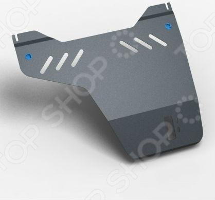 Комплект: защита раздаточной коробки и крепеж Novline-Autofamily Mitsubishi Pajero IV 2006: 3,2 дизель АКПП