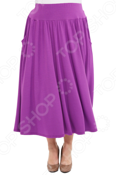 Юбка Матекс «Изабелина». Цвет: сиреневый  туника матекс анабелла цвет сиреневый