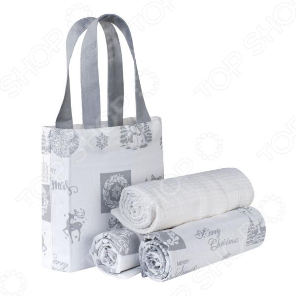 Набор полотенец и сумка Guten Morgen Christmas