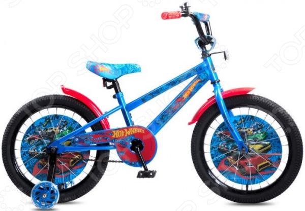 Велосипед детский Navigator Hot Wheels 18 велосипед navigator hot wheels 16 1 скорость