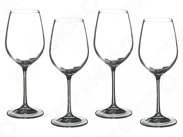 Набор бокалов для вина Bohemia Crystal «Бар» 674-273 набор бокалов crystalex ангела оптика отводка зол 6шт 400мл бренди стекло