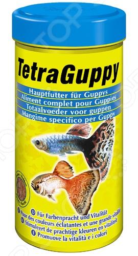 Корм для гуппи Tetra Guppy tetra корм для рыб tetra guppy в хлопьях для гуппи 250мл