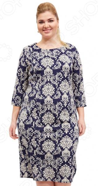 Платье Лауме-стиль «Легкая влюбленность». Цвет: серый