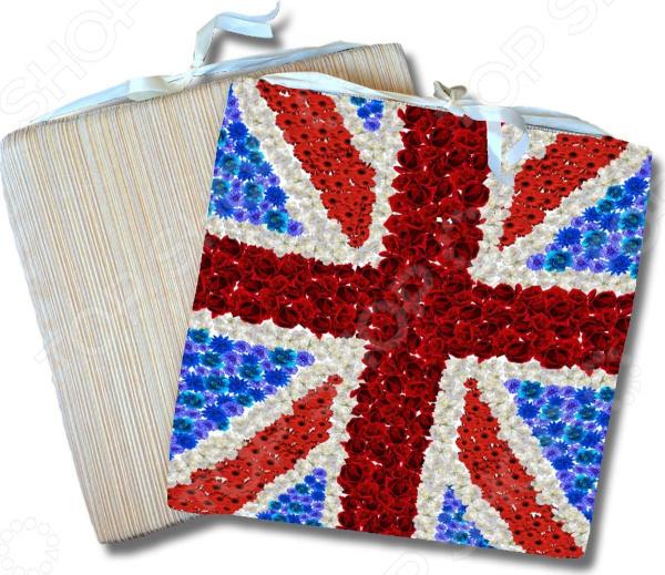 Сидушка на стул Gift'n'home «Британский флаг» Gift'n'home - артикул: 1754264