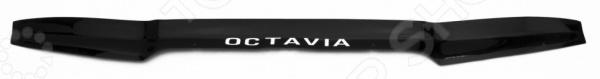 Дефлектор капота REIN Nissan X-Trail T30, 2001-2006, кроссовер (ЕВРО-крепеж)