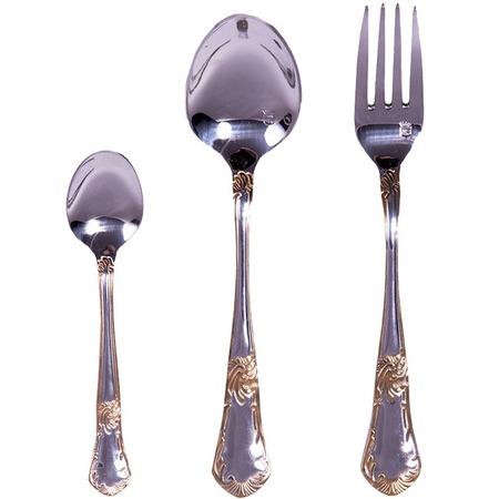 Купить Набор столовых приборов «Традиция» HB-18008 18 предметов