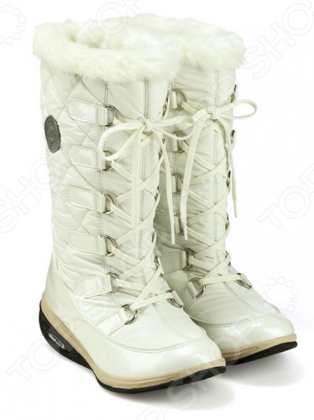 Сапоги зимние Walkmaxx Snow Boots glitter rivets fur snow boots