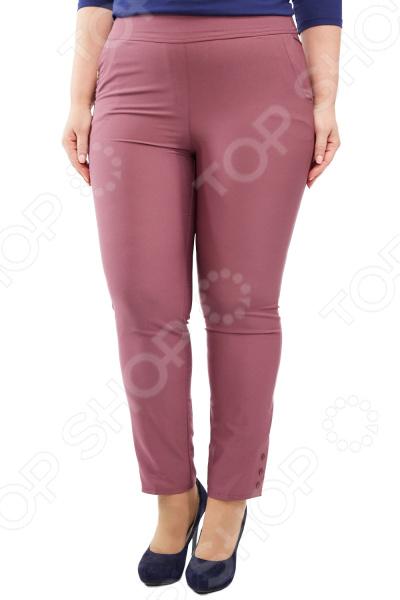 Брюки Blagof «Габриэлла». Цвет: сливовый брюки blagof брюки зауженные