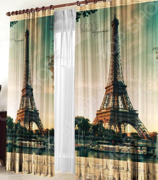 Фотошторы Zlata Korunka «Париж»