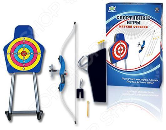 Набор оружия игрушечный с 3 стрелами «Меткий стрелок»